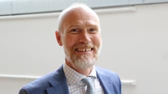 En svært fornøyd rektor Steinar Kristoffersen kan glede seg over oppgang i førsteprioritetssøkere, for sjette året på rad!