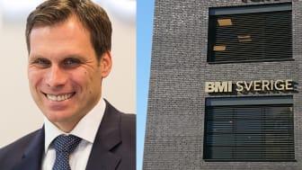 BMI Sveriges nya VD och huvudkontor