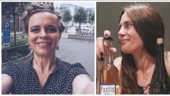 Cecilia Petrini och Josefine Forsgren är två av vinpersonligheterna i Winefinder.se:s julkalender.