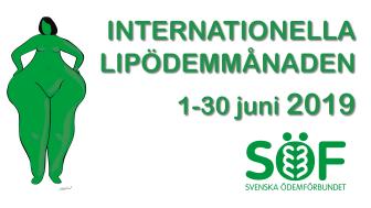 Under den internationella lipödemmånaden juni vill vi öka medvetenheten om LIPÖDEM – en kronisk progredierande kvinnosjukdom, diagnoskod: R60.0B.