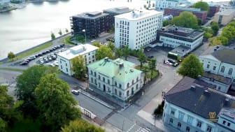 Framtidens affärselever utbildas i Riksbankens gamla lokalar i Jönköping