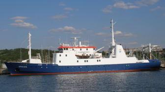 Fartyget Argos klart att skickas till Danmark för skrotning