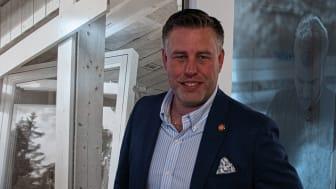 Mikael Tykesson, ny försäljnings- och marknadschef på bygghandelskedjan Woody Bygghandel med ett 50-tal delägare och totalt 100 anläggningar.