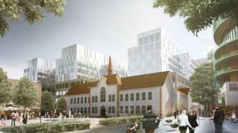 Vårdbyggnader blir nytt arkitektoniskt landmärke i Malmö