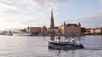 Uthyrning av miljövänliga picknickbåtar startar i Stockholm