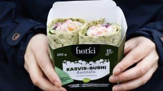 Hetki Sushiburritot kasvis-sushi syksy