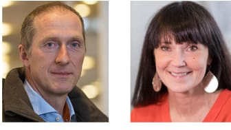 Lars-Erik Lauritz och Anna Lindqvist, Umeå universitet.