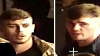 [Images of the men police need to identify]