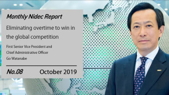 Monthly Nidec Report - Eliminating overtime to win in the global competition