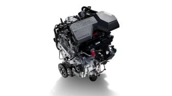 Nya Santa Fe - 1.6 Turbo Hybrid engine