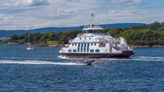 Fra 30. november skjer det endringer i Rutertilbudet i hele Follo, blant annet på Nesoddbåten. Foto: Ruter