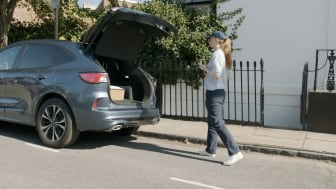 Fords nya projekt möjliggör paketleveranser direkt till bilen