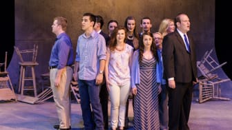 In the Middle of the West, by Steve Gilroy, performed here by students from Oklahoma City University, which commissioned the play.