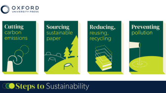 OUP's Steps to Sustainability
