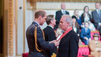Vice-Chancellor receives CBE at Buckingham Palace