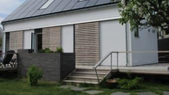 Arkitekt Inger Thede vinnare av Skåne Solar Award 2014