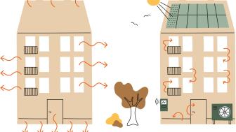 Riksbyggen energioptimerar fastigheter med AI