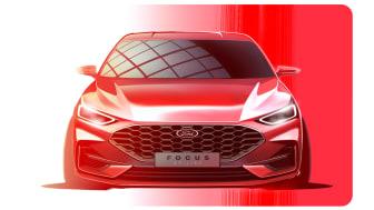Ford Focus ST-Line skisse 2021
