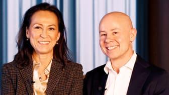 Katarina Klingspor och Rickard Westlund