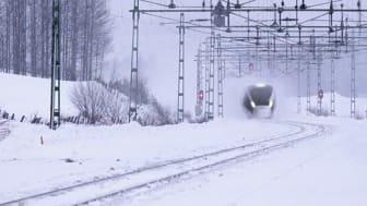 Nytt höghastighetståg ger färre förseningar