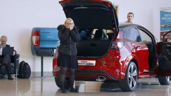 Ford Puma tænker ud af MegaBoxen med Halloween-prank