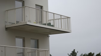 Alnovas balkongräcke Classic Spjäl