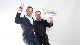 Hand in Hand får 7 miljoner kronor i basstöd av Svenska PostkodLotteriet