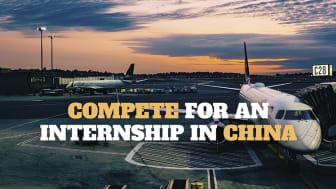 Studenter från Jönköping International Business School tävlar om praktikperiod i Kina