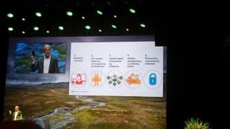 VIKTIG AGENDA: Digital brukerorientering er satt høyt på den offentlige agendaen. Jan Tore Sanner presenterer Digital agenda under Difis digitaliseringskonferanse.
