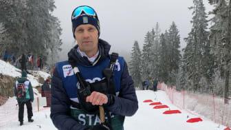 Daniel Fåhraeus, längdchef på Svenska Skidförbundet vill se ökad jämställdhet inom Längdskidsverige