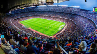 View of Camp Nou!