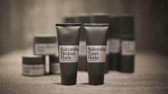 Den nya svensktillverkade hudvårdsserien Hada med influenser från Japan.