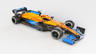 AkzoNobel puts the cool into McLaren's stylish new Formula 1 car, the MCL35