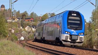Mälartåg. Foto: Matthias Pfeil, Region Sörmland.
