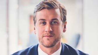 Daniel Lundin är ny medarbetare hos Fastighetsbyrån Nyproduktion Öresund