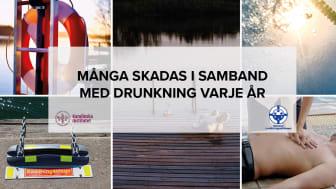 Många skadas i samband med drunkning varje år