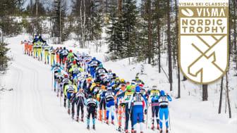 Vasaloppet er et av de mest krevende skirennene i Visma Ski Classics.