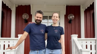 Dan Allen och Kerstin Hörnfeldt på Root i Tavelsjö