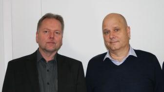 Från vänster: Leif Adolfsson Vanderbilt, Mathias Karlsson Copiax och Magnus Kjettselberg Comnet