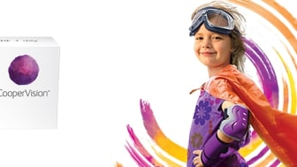 MiSight® 1 day – The worlds first one-day soft contact lens proven to slow myopia progression by 59% in children.