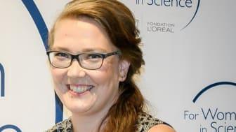 Farmasian tohtori Tiina Sikanen, For Women in Science Young Talents -apurahan saaja