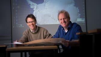 Dr Jan De Rydt and Professor Hilmar Gudmundsson of Northumbria University