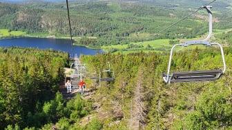 Pressinbjudan: Skulebergets linbana öppnas 29 juni
