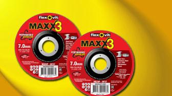 Flexovit Maxx 3 navrondeller - Produkt 1