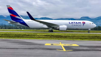 Boeing 767-300F from LATAM Cargo (Photo by LATAM)