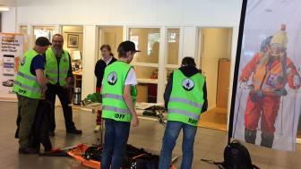 Representanter fra Gol og Hemsedal var til stede under hjulskiftdagene.