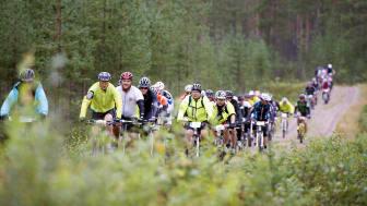 Deltagarrekord för Cykelvasan Öppet Spår – anmälningstaket höjs