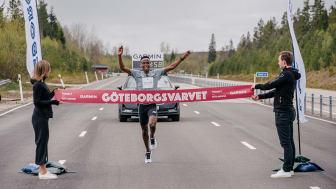 Löparna sprang nästan två varv runt jorden i det virtuella Göteborgsvarvet