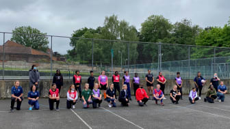 Officers in Croydon team up with London Netball
