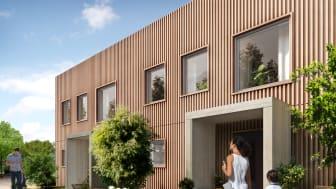 Bebyggelsen i Fyllinge kommer att bli småskalig med en blandning av olika hustyper, gårdsgator, promenadstråk, torg och parker.